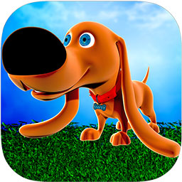Sniffy-Dog-Run-Icon-256-round