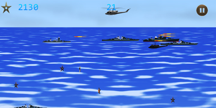 Battleship Heli Wars