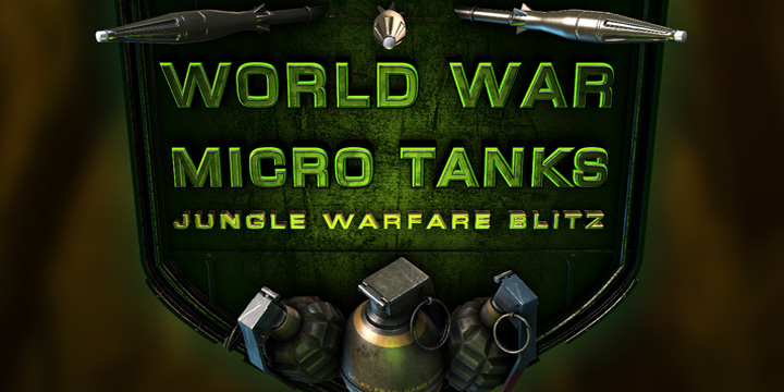World War Micro Tanks – Jungle Warfare Blitz